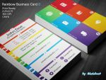 Rainbow Business Card II by khaledzz9
