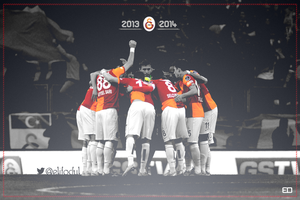 Galatasaray 2013 - 2014 by elifodul