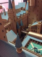 Hogwarts Castle Paper Model - Bridges by ana-wandmaker
