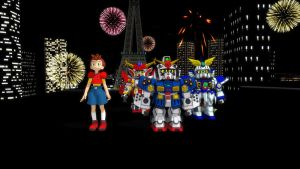 MMD Fourth of July by blazeraptor
