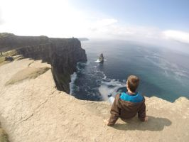 On the edge of the World by metju91
