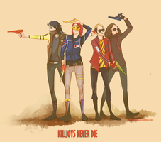 Killjoys never die by nastjastark