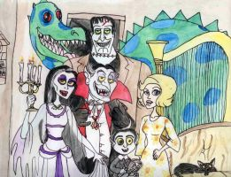 The Munsters by ARTIST-SRF
