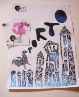 poster and postcards by annnus