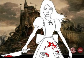 Alice Madness Returns Base by candytoy52