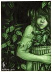Whispers in the Green   ACEO by myceliae - Ye�il Avatarlar ll 3 ll