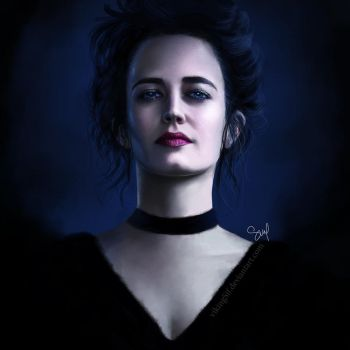 Vanessa Ives Painting by VikingSif
