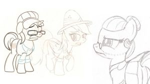 Daring Do Adventures WIP 2 by drawponies