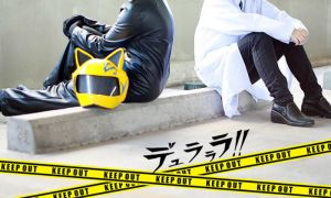 Celty and Shinra by r-kira
