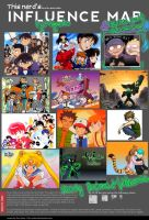 Influence Map! by Gell-pen