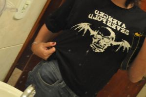 My Avenged Sevenfold T-shirt by Decode-That