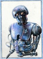 2-1B Medical Droid Sketchcard by RobD4E
