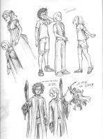 DH Post-Epilogue Sketches by Tathrin