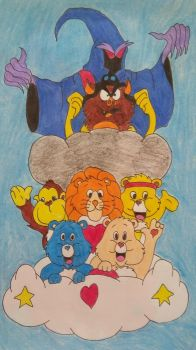 Care Bears by cavaloalado