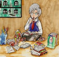 Yale -Reading- by Kell0x