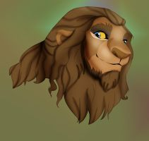 Chris The Lion by dyb
