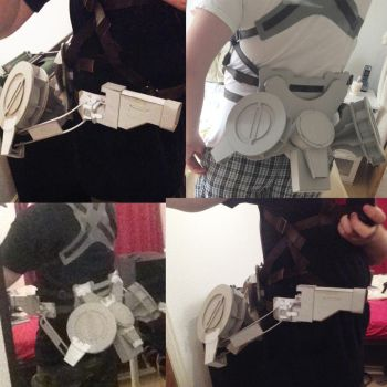 Attack on Titan: 3DMG WIP 2 by Gregggle