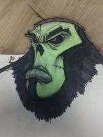 MI: The Zombie Pirate LeChuck by yellow-five