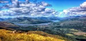 View from Nevis Range by Raiden316
