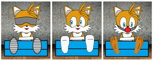 Tails in the stocks by simonhuthinson