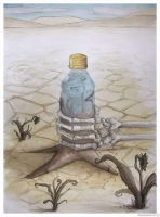 Water is nowhere by Pallala