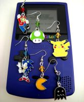 Retro Videogame Earrings Collection by GeekStarCostuming