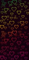 + Colorful Heartbeat CustomBox Background + by Remilyah