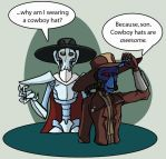 Cowboy Hats are Awesome by Chrystalis