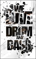 Drum'N'Bass logo by NewX4