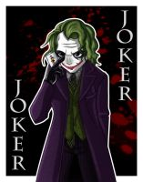 At Kittysrawr DarkKnight Joker by Psy-CHO-Aoi