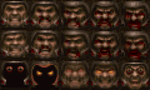 "Ranger's ""Quakeguy"" faces by Clownboss"