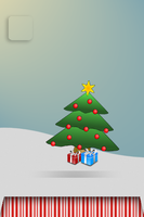 Christmas Background by SyntheticsArt