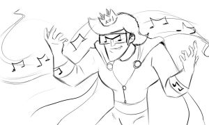 Music Meister King of co by Malicious-Alice