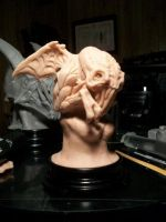 Cthulhu Statuette WIP by NoahW