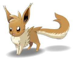 Mega Eevee - Contest entry by BlackySpyro