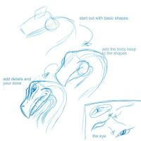 draw a dragon is 3 steps by xoxStarxox