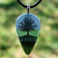 The Horizon ToL Fused Glass by FusedElegance