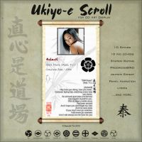 Ukiyo-e Scroll for CAD by Bayushi-Tai