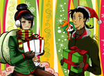 ~Christmas Collab~ by AnimeNeko123