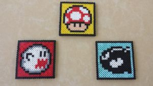 Super Mario Coasters - PB Sprites by MaddogsCreations