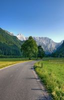 Road to the Alps by Swen11