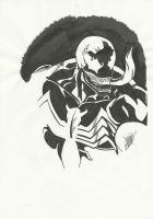 Venom's Face by MistermindH