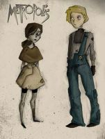characters of Metropolis by Spleen-y