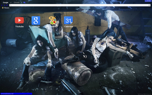 The Agonist Theme #2 by bandchromethemes