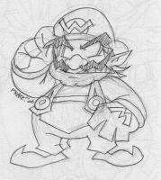 Wario the Looter by EnterPraiz