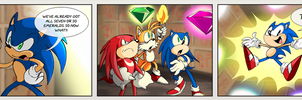 SONIC 100: 099 Legendary Hero by thweatted