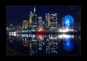Melbourne City IV by Sutur