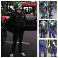 Punk joker concept cosplay by SmilexVillainco