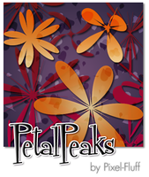 PetalPeaks - PS Brush Set by pixel-fluff