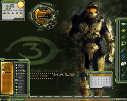 Halo Desktop by a666a